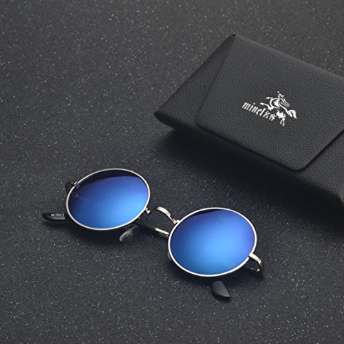 soleil Silver Blue de Lunettes MINCL Homme z6wqEx