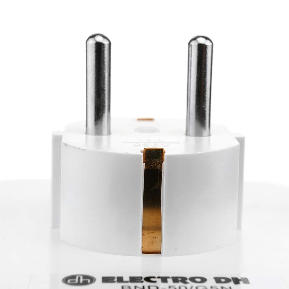 BeMatik Programador el/éctrico mec/ánico Diario Tipo Enchufe Compacto