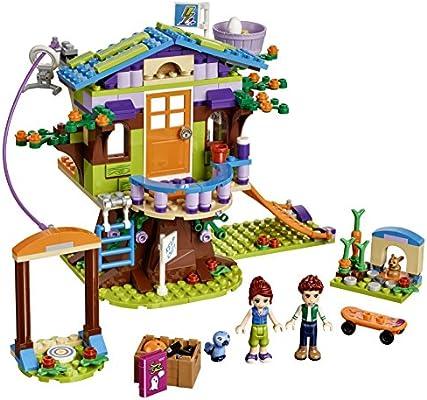 Amazoncom Lego Friends Mias Tree House 41335 Creative Building