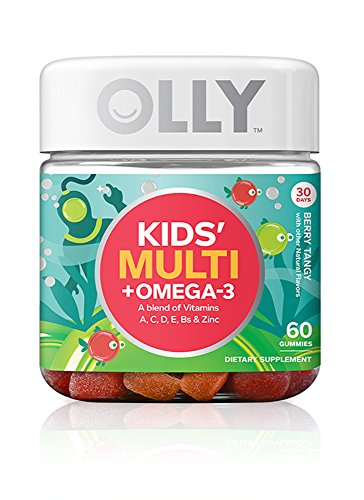 OLLY Kids Multi-Vitamin and Probiotic Gummy Supplements