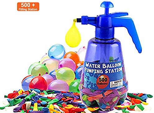 SourceDIY Water Balloon Bombs with Portable Pumping Station 3 In 1 ...