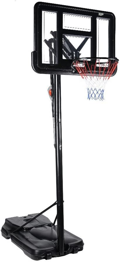 hukoer altura ajustable sistema de baloncesto portátil canasta de ...