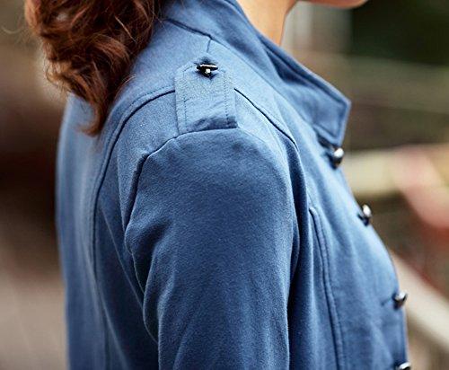 LOBZON - Chaqueta - universidad - para mujer Azul
