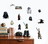 Star Wars Wall Decal Cling Decor 12 Pieces