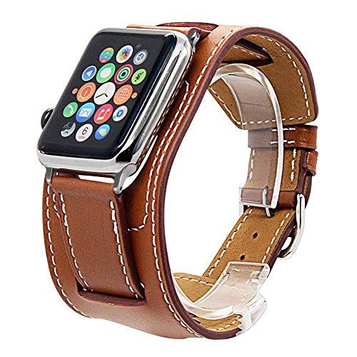 Cuff Bracelet Watchband brown 38mm