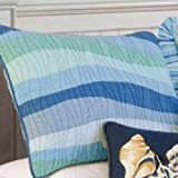 C & F Enterprises Ocean Wave Collection Sham, 20 by 26-Inch