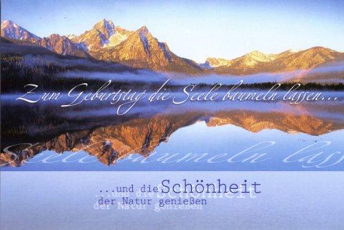 50 Geburtstagskarten Spruche Natur Landschaft Sonnenuntergang