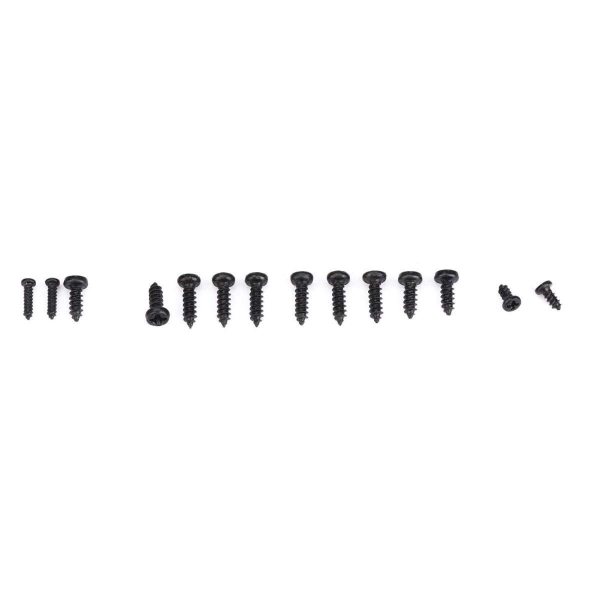 1000pcs Tornillos peque/ños Kit de Surtido de Tornillos autorroscantes de Cabeza Cruzada KOKO Zhu M1 M1.2 M1.4 Tornillo autorroscante M1.7