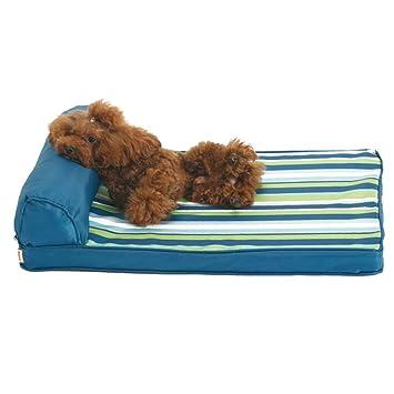 Cama para Perros, Cama ortopédica de Lujo para Perros, colchón de Espuma de Memoria para Mascotas, Funda Impermeable Lavable de Oxford (Tamaño : L ...