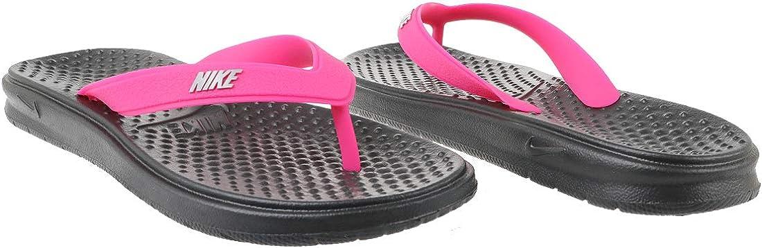 Nike Solay Thong Big Kids Flip Flop Grey Pink Sandals Junior Sizes Slides Kids