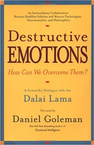 Book Destructive Emotions: A Scientific Dialogue with the Dalai Lama by Daniel Goleman (2003-01-01)