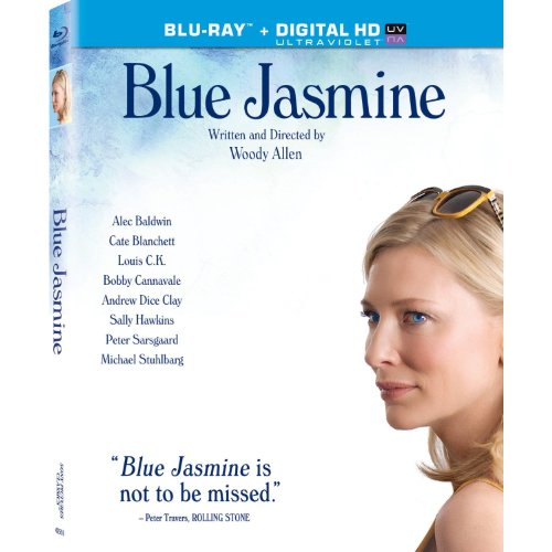 Blue Jasmine (Blu-ray + Digital HD with UltraViolet) Hunter Blue Clock