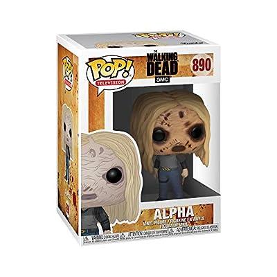Funko 43535 POP Vinyl TV: Walking Dead-Alpha w/Mask Collectible Figure, Multicolour, Multicolor, 3.75 inches: Toys & Games