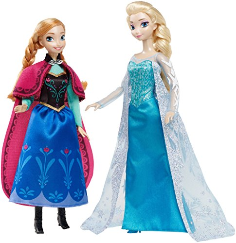Disney Signature Collection Frozen Anna and Elsa Doll (2-Pack) -