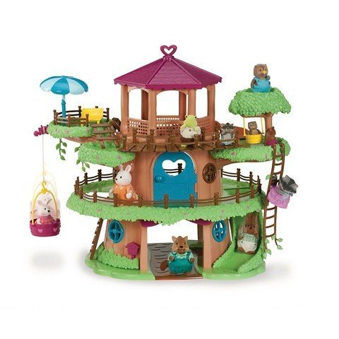 Woodzeez Family Treehouse Playset ()