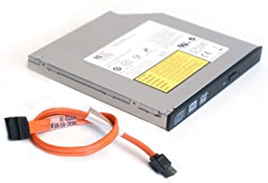 Replacement CD DVD Burner Writer Player Drive for Dell Optiplex Small Form Factor SFF 390 790 990 3010 3020 7010 7020 9010 Computer and SATA Cable