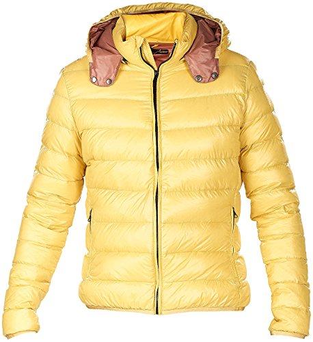 Dimensioni Ultra Savannengelb Grandi Di giacca Esterna Perla Piume Di Piumino Giacca Leggero Fcxf640