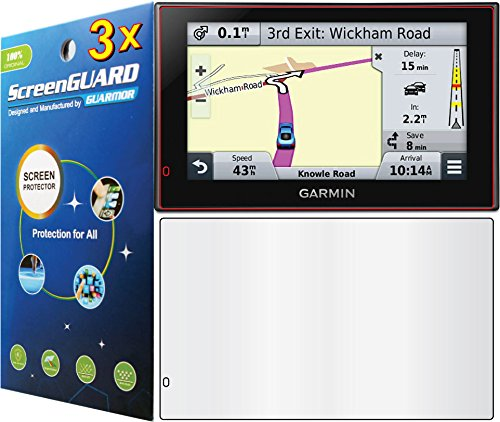"GuarmorShield - 3x Garmin Nuvi 2689 2689LM 2689LMT LM LMT 6"" GPS Premium Clear LCD Screen Protector Cover Guard Shield Protective Film Kits"