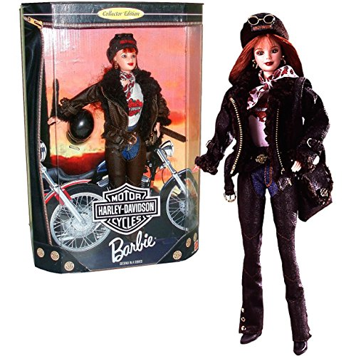 Harley-Davidson Motorcycle Red Hair Barbie