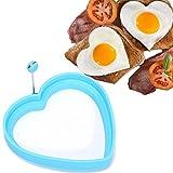 5pcs/set Stainless steel Egg Pancake Rings Cute Shaped Fried Egg Mold Pancake Rings Mold Kitchen Tool egg tools