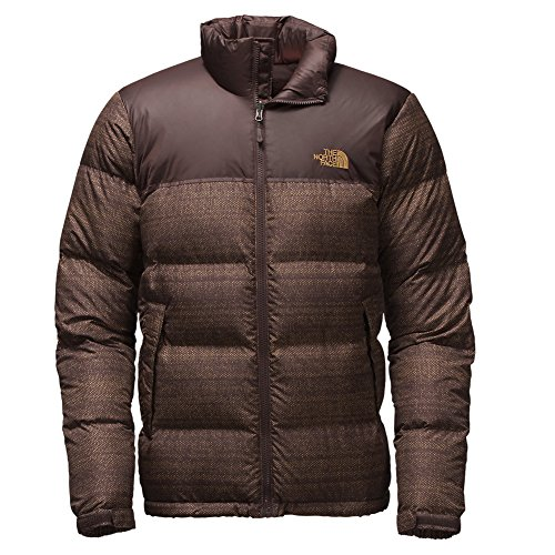 North Face Nuptse Jacket (Large, Coffee Bean Brown Twitch...