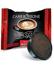 Caffè Borbone Don Carlo Miscela Rossa - Confezione da 100 pezzi Capsule – Compatibile Lavazza A Modo Mio®