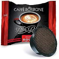 Caffè Borbone Don Carlo Miscela Rossa - Confezione da 100 pezzi Capsule – Compatibile Lavazza A Modo Mio