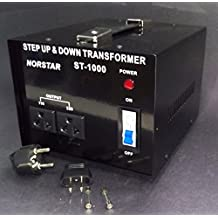 1000 watt Step Up Step Down Voltage Transformer Converter With Fuse Protection - Two Way Transformer