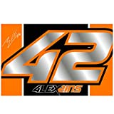 Alex Rins 42 Moto GP Suzuki Racing Logo Flag Official 2018