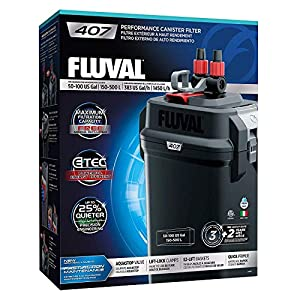 Fluval 407 Performance Canister Filter 120Vac 4