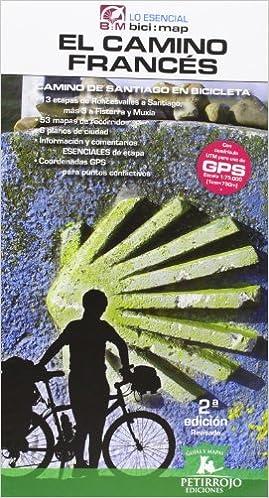 El camino francés en bicicleta (Bicimap (petirrojo)): Amazon.es: H. Mardones, Valeria, Datcharry, Bernard: Libros