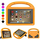 PC Hardware : All New Fire 7 2017 Case, Fire 7 2015 Case, Auorld Light Weight Kids Shock Proof Stand Handle Kid-Proof Case Cover for Amazon Fire 7 Tablet(5th Generation,2015 Release/7th Gen,2017) (Orange)