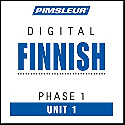Finnish Phase 1, Unit 01