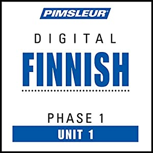 Finnish Phase 1, Unit 01 Hörbuch
