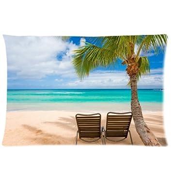 Amazon.com: Hawaii Verano Playa Escenario con Sillas Playa ...