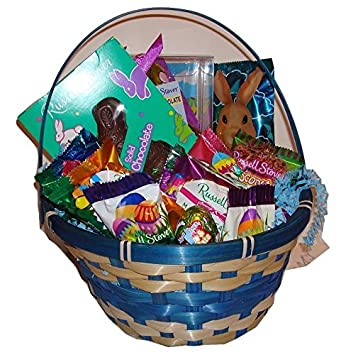 Amazon russell stover easter basket gift basket filled russell stover easter basket gift basket filled with russell stover assorted easter candy negle Gallery