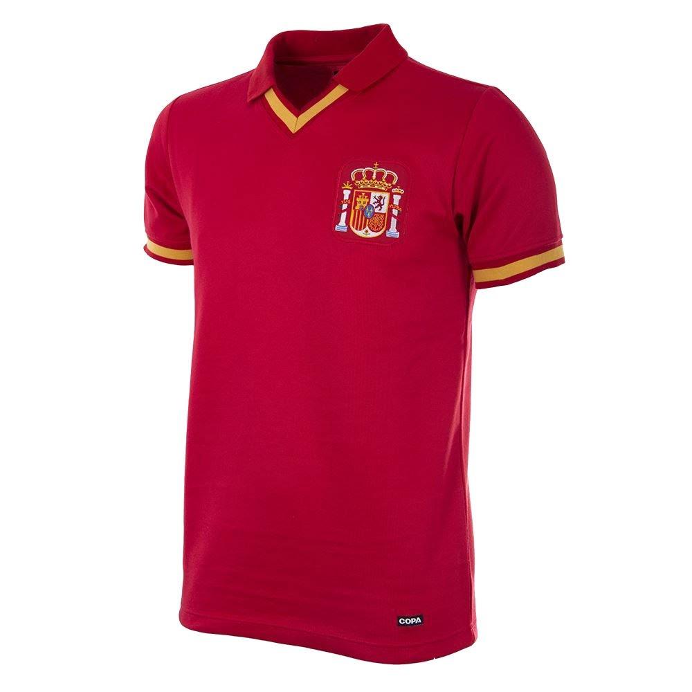 Copa 1988 Spanein Retro Trikot