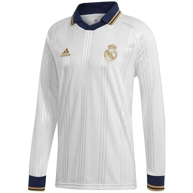 info for 83f7d 4da6d Amazon.com: adidas Men's Real Madrid Icons Longsleeve Jersey ...