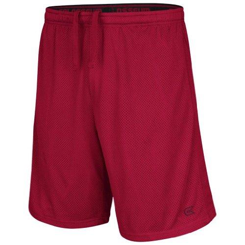 Colosseum Athletic Mesh Basketball Shorts (Cardinal) - L - Colosseum Mesh Shorts