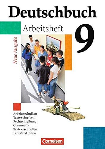 Deutschbuch Gymnasium - Allgemeine bisherige Ausgabe: 9. Schuljahr - 6-jährige Sekundarstufe I - Arbeitsheft mit Lösungen