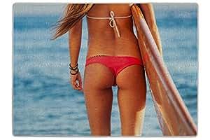 Puzle Chica Tabla de surf de playa impreso 300 piezes