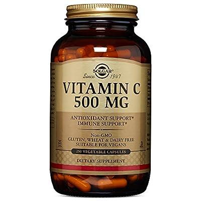 Solgar – Vitamin C 500 mg, Vegetable Capsules