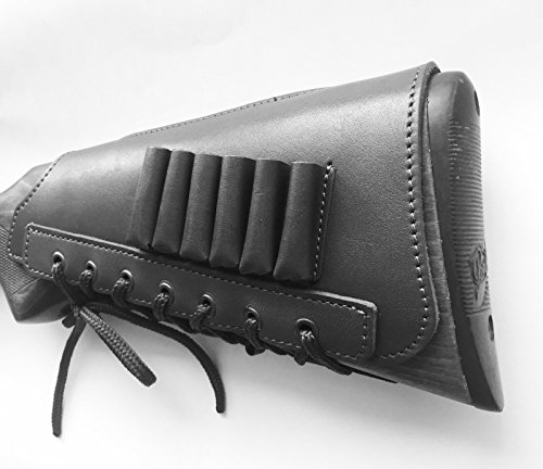 Used, vsdfvsdfv Real Leather Rifle Ammo Cartridge Buttstock for sale  Delivered anywhere in USA