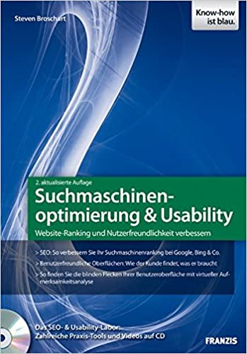 Cover des Buchs: Suchmaschinenoptimierung & Usability (Professional Series)