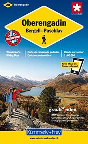 Oberengadin: Bergell - Puschlav. 1 : 60 000