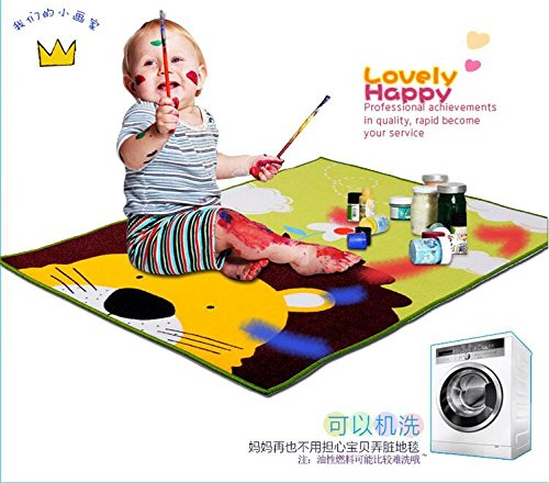 HUAHOO Children Carpet Kids Inches Cartoon Baby Mat Crawling