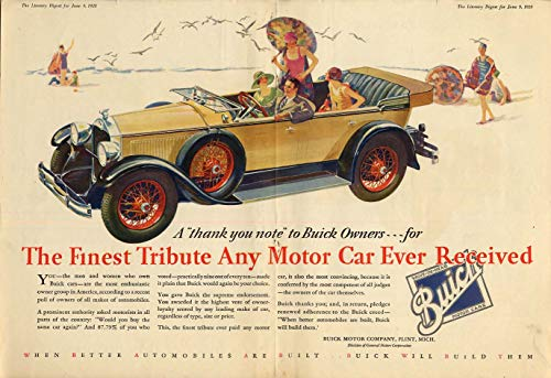 Finest Tribute Any Motor Car Ever received - Buick Touring Car ad 1938 LD ()