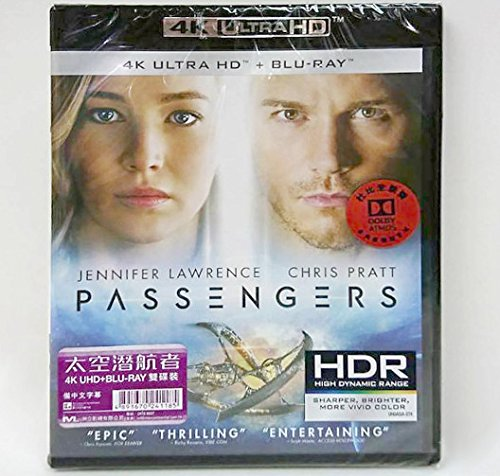 Passengers (4K UHD + Region A Blu-Ray) (Hong Kong Version / Chinese subtitled)