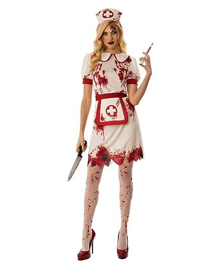 Horror-Shop Traje de Enfermera de la Muerte L: Amazon.es ...