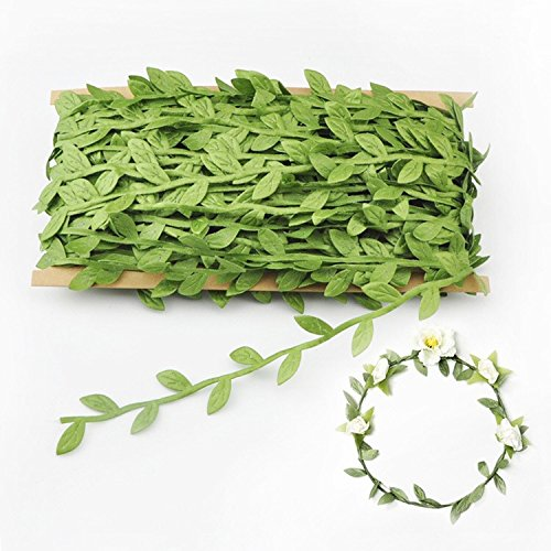 132 FT Artificial Vines, Artificial Leaf Garlands Fake,Home Wall Garden Wedding Party Decoration Wreaths Home Decor,Outdoor Office Wall Decoration